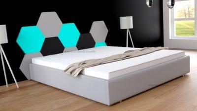 modne łóżka do sypialni
