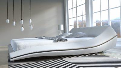 nowoczesne łóżka do sypialni tapicerowane